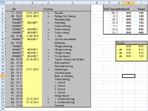 Arbeitszeiterfassung Für Excel Kostenlos